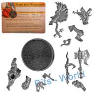 Warhammer Bits: Warhammer Quest Warhammer Quest Silver Tower - Fyreslayer Doomseeker W/Character Card