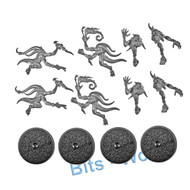 Warhammer Bits: Warhammer Quest Warhammer Quest Silver Tower - Blue Horrors X4