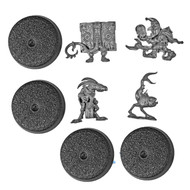 WARHAMMER BITS: WARHAMMER QUEST SILVER TOWER - CHAOS FAMILIARS X4