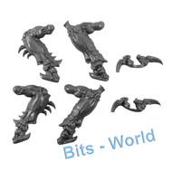 WARHAMMER 40K BITS - TYRANID EXOCRINE/HARUSPEX - FRONT LEGS/ARMS