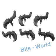 WARHAMMER 40K BITS - TYRANID HIVE GUARD - CRUSHING CLAWS 6x