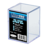 Ultra PRO: 2-Piece 150 Count Clear Card Box