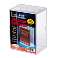 Ultra PRO: 2-Piece 250 Count Clear Card Box