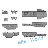 Warhammer 40k Bits: Orks Battlewagon - Chassis