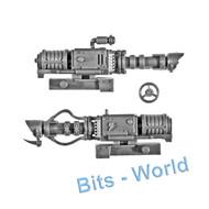 WARHAMMER 40K BITS: ORKS BATTLEWAGON - ZZAP GUN