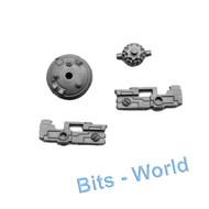 WARHAMMER 40K BITS: TAU BROADSIDE BATTLESUIT - DRONE SHIELD & GUN UPGRADE