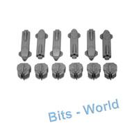Warhammer 40k Bits: Tau Hammerhead/Sky Ray - Seeker Missiles 6x