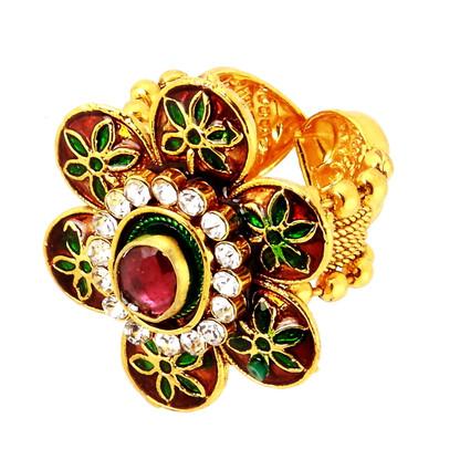 1 Gram Gold RasRawa Ring