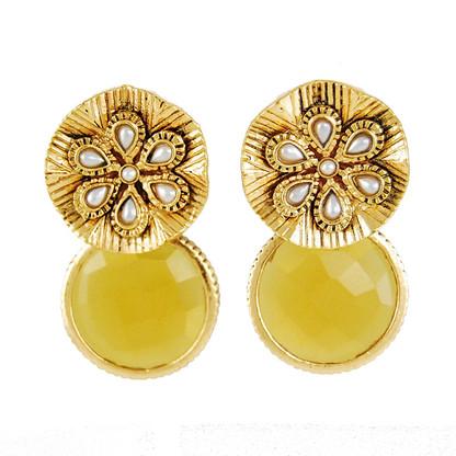 1 Gram Gold RasRawa Earrings 6