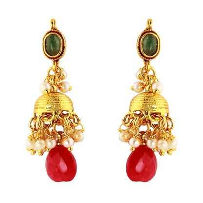 1 Gram Gold RasRawa Earrings 14