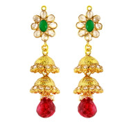 1 Gram Gold RasRawa Earrings 18