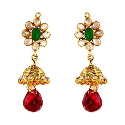 1 Gram Gold RasRawa Earrings 21