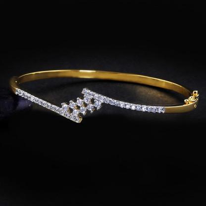 1 Gram Gold American Diamond Bracelet 8