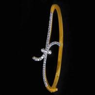 1 Gram Gold American Diamond Bracelet 9