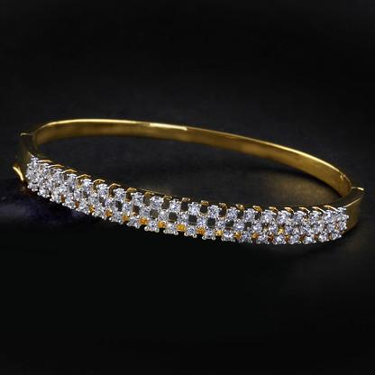 1 Gram Gold American Diamond Bracelet 13