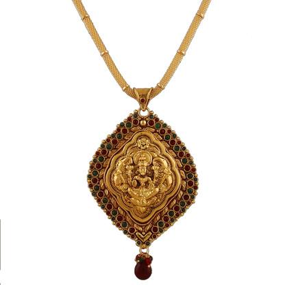 1 Gram Gold Temple Necklace 1