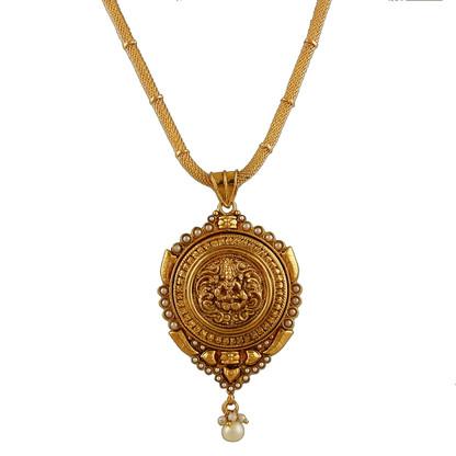 1 Gram Gold Temple Necklace 2