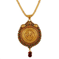 1 Gram Gold Temple Necklace 4
