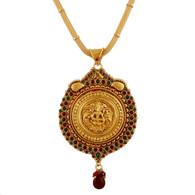1 Gram Gold Temple Necklace 4