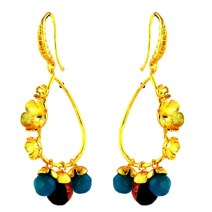 1 Gram Gold Beads Earrings 38
