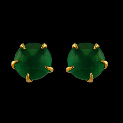 1 Gram Gold American Diamond Earrings 51