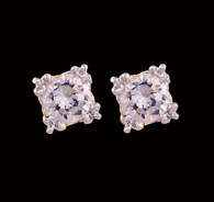 1 Gram Gold American Diamond Earrings 62