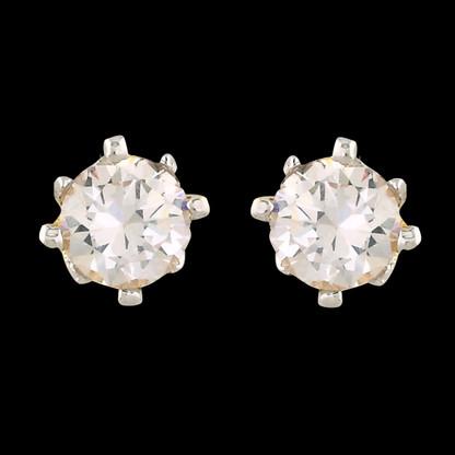 1 Gram Gold American Diamond Earrings 65