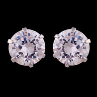 1 Gram Gold American Diamond Earrings 66