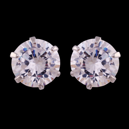 1 Gram Gold American Diamond Earrings 66