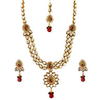 1 Gram Gold Victorian Necklace Set 50