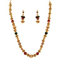 1 Gram Gold Beads Necklace Set 59