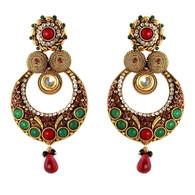 1 Gram Gold Ras Rawa Earrings