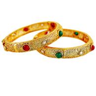 1 Gram Gold RasRawa Bangles 1