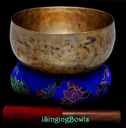 Antique Tibetan Singing Bowl #9350