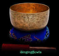 "Antique Tibetan Singing Bowl #9318 : Thado 6 3/8"", ca. 18th Century, G#3 & D5."