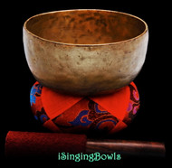 "Antique Tibetan Singing Bowl #9311 : Thado 6 7/8"", ca. 19th Century, A#3 & E5."