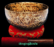 "New Tibetan Singing Bowl #9460 : Thadobati 7 1/4"", A3 & D#5."