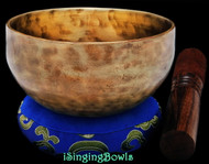 "New Tibetan Singing Bowl #9540: Cup 5"",  A4 & D#6."
