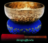 "New Tibetan Singing Bowl #9406 : Thadobati 7 5/8"", G#3 & D5."