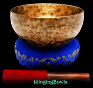 "New Tibetan Singing Bowl #9404 : Thadobati 7 1/4"", A3 & E5."
