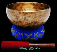 "New Tibetan Singing Bowl #9459 : Thadobati 7 1/8"", A3 & E5."