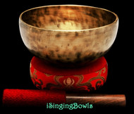 "New Tibetan Singing Bowl #9464 : Thadobati 7"", A#3 & E5."