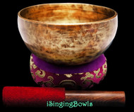 "New Tibetan Singing Bowl #9407 : Thadobati 7"", A#3 & E5."
