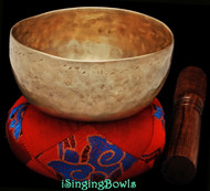 "Antique Tibetan Singing Bowl #9600 : Cup 4 3/4"", circa 19th Century, F4 & B5."