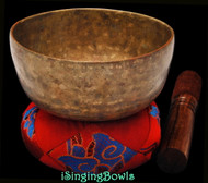 "Antique Tibetan Singing Bowl #9613:  Cup 5 3/8"", circa 18th Century, D#4 & A5."