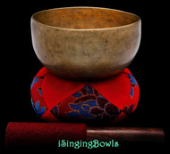 "Antique Tibetan Singing Bowl #9612 : Thado 6 1/8"", ca. 18th Century, A3 & D#5 ."