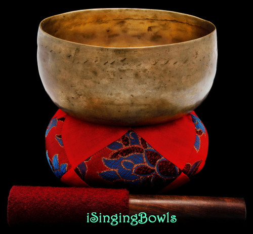 Antique Tibetan Singing Bowl #9603
