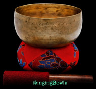 "Antique Tibetan Singing Bowl #9603 : Thado 6 5/8"", ca. 18th Century, E3 & A4."