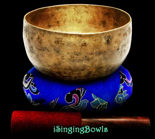 Antique Tibetan Singing Bowl #9614