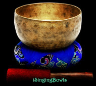 "Antique Tibetan Singing Bowl #9614 : Thado 6 5/8"", ca. 18th Century, F3 & A#4."